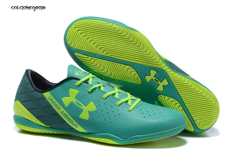 Under Armour Clutchfit Force IC Nero Verde Verde Fluorescente Scontate