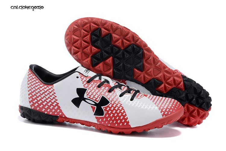Under Armour Clutchfit Force TF Nero Rosso Bianco Scontate