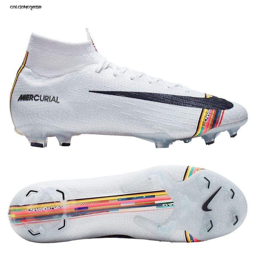 Nike Mercurial Superfly 6 Elite FG LVL UP Bianco Scontate